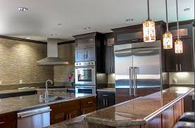 Kitchen Backsplash Ideas With Dark Wood Cabinets by 99 Gorgeous Kitchens With Stainless Steel Appliances For 2017