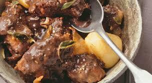 cuisiner joue de porc civet de joue de porc à la sauge un régal