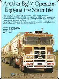100 Atkinson Trucks Another Truck Roadtrain Tin Metal Sign