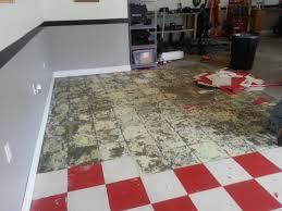 Sealing Asbestos Floor Tiles With Epoxy by Floor Design Adorable Picture Of Grey Red Removing Asbestos Floor