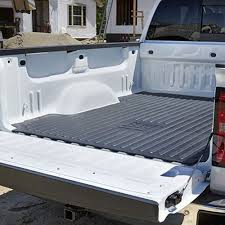 Pickup Bed Mats by General Motors 17803371 Silverado Sierra Rubber Bed Mat Gm Logo 07 17