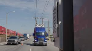 100 Used Class 8 Trucks First Catenary System In The US That Powers Trucks With Overhead