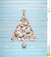 Seashell Christmas Tree Ornaments by Christmas Tree Shells Background Stock Photo Image 60183883