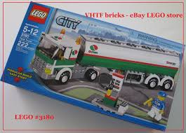 100 Lego City Tanker Truck LEGO 3180 Tank Octan New Gas Station VHTF Item 3395