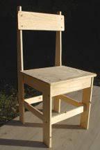 une chaise apprendre comment faire une chaise en bois soi même