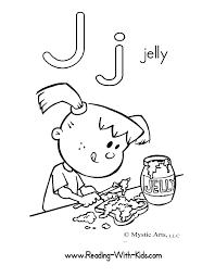 Letter J Coloring Sheet Letters Alphabet ColoringSheets