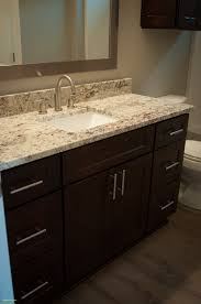 Bathroom Ideas Master Elegant Gorgeous Dark Cabinets Exotic Granite ... Cheap Tile For Bathroom Countertop Ideas And Tips Awesome For Granite Vanity Tops In Modern Bathrooms Dectable Backsplash Custom Inches Only Inch Stunning Diy And Gallery East Coast Marble Costco Depot Countertops Lowes Home Menards Options Hgtv Top Mirror Sink Cabinets With Choices Design Great Lakes Light Fromy Love Design