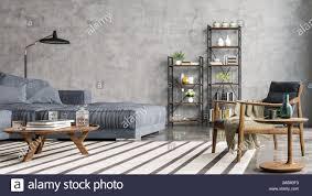 moderne innenausstattung aus einem wohnzimmer in einer