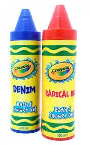 Crayola Bathtub Crayons Refill by Crayola Washable Bath Crayons Bath U0026 Shower Gel 400ml