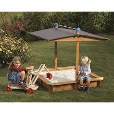 bac a avec toit gaspo bac à mickey 1 4 x 1 4 m avec toit rabattable