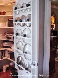 Pot Lid Organizers Kitchen Organizing Ideas