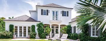 Contemporary British Colonial Palm Beach Home