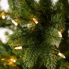 Christmas Tree Sale 10ft by Pre Lit Green Bayberry Spruce Artificial Real Feel Pe Pencil
