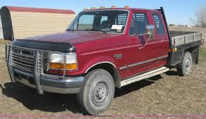 100 95 Ford Truck 19 F250 HD XLT SuperCab Flatbed Pickup Truck Item J