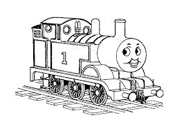 Thomas The Train Printable Coloring Pages Pictures