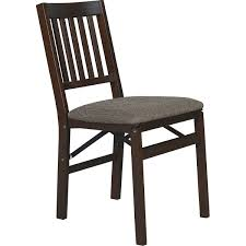 Stakmore Solid Wood Padded Folding Chair, Espresso Wood Folding Chairs With Padded Seat White Wooden Are Very Comfortable And Premium 2 Thick Vinyl Chair By National Public Seating 3200 Series Padded Folding Chairs Vintage Timber Trestle Tables Natural With Ivory Resin Shaker Ladder Back Hardwood Chair Fruitwood Contoured Hercules Wedding Ceremony Buy Seatused Chairsseat Cushions Cosco 4pack Black Walmartcom