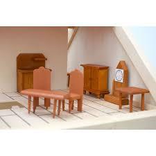 puppenhausmöbel zubehör esszimmer 8 möbel set holz für