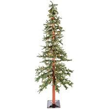 Hobby Lobby Burlap Christmas Tree Skirt by 7 U0027 Green Alpine Christmas Tree With Lights Shop Hobby Lobby