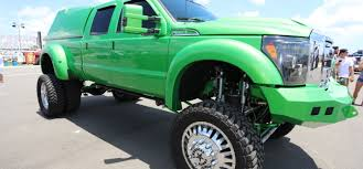 P.J. Oliver's Mean Green 2011 Ford F-350 Lariat