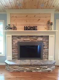 80 Incridible Rustic Farmhouse Fireplace Ideas Makeover 76