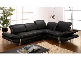 canapé d angle cuir de buffle salon d angle cuir de buffle apesanteur ii noir angle gauche