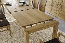 massivholz essgruppe tisch ausziehbar 210 eiche 9tlg set kulissentisch mit stühlen