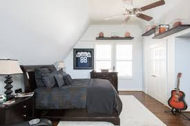 Transitional Bedroom Photo In Dallas