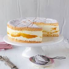 käse sahne torte mit mango rezept essen und trinken