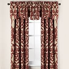 Bed Bath And Beyond Curtains And Drapes by Pennington Rod Pocket Window Curtain Panels And Valance