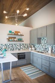 Seattle Gray Paint For Kitchen With Metal Dining Room Chairs Modern And Painted Cabinets