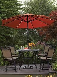 Walmart Patio Tilt Umbrellas by Best 25 Patio Umbrella Lights Ideas On Pinterest Patio Table