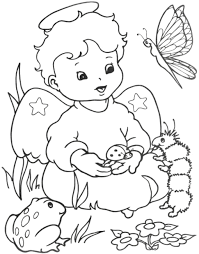 Anges Coloriages