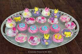 Fancy Nancy inspired cupcakes Happy 7th birthday Orla