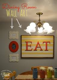 7 Diy Dining Room Wall Art Wonderful With Images Of