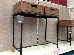 Threshold Campaign Desk Black by Target Console Table Brown Sale Threshold Campaign Desk Good