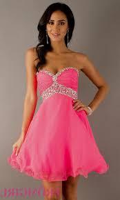 short strapless pink sparkly prom dresses naf dresses