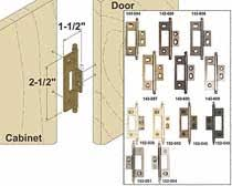 image result for non mortise chest hinge for cabinet doors