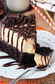 Pumpkin Layer Cheesecake by Pumpkin Chocolate Brownie Cheesecake Life Love And Sugar