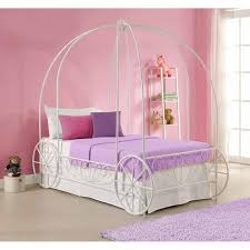 Diva Upholstered Twin Bed Pink by Metal Twin Carriage Bed White Walmart Com For Chloe U0027s Bedroom