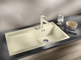 Blanco Silgranit Sinks Colors by Blanco Zenar 45 S Silgranit Anthracite Kitchen Sinks From