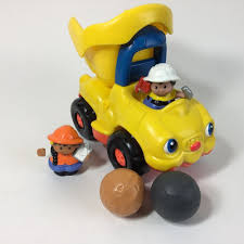 Little People Dump Truck W/2 Construction Figures & 2 Boulders In ... Buy Fisherprice Little People Dump Truck Online At Low Prices In Fisher Price 2009 Orange Yellow Cstruction Shop Toddler Toys 789 942 Fisher Price Vintage Little People Cstruction Yellowgreen Free Download Playapkco Work Together Site With Dump Trucks Price Lifty Loader Lil Movers Youtube Mover8482 Amazoncom V2516 Wheelies En Games Off Road Atv Adventure