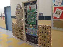 Christmas Door Decorating Contest Ideas by Holiday Door Decorating Contest U2013 Adventures In Speech At P373 At Ps48