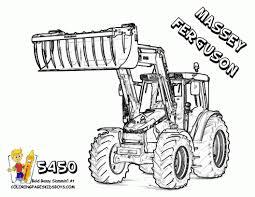 Dessin De Tracteur À Colorier Dessinmygaleclub
