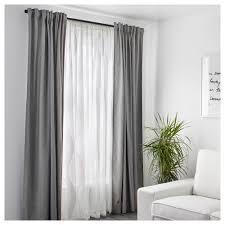 J Queen New York Kingsbridge Curtains by Murruta Net Curtains 1 Pair White 145x250 Cm Ikea