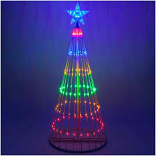 Rope Light Christmas Tree Spiral Outdoor A Comfortable Led