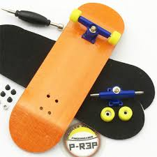 Buy Generic Complete Wooden Fingerboard Finger Skate Board Sport ...