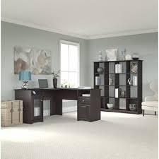 Bush Cabot L Shaped Desk Office Suite by Latitude Run Luther 2 Piece U Shaped Desk Office Suite Online