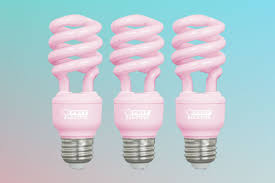 guess where you can buy this flattering rosy light bulb