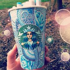 O Drawing Art Awesome Follow Back Starbucks Creative Artist Artwork Amazing Cup Marker For I Instant Follo