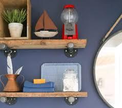 Reclaimed Wood Shelf Diy by Remodelaholic Reclaimed Wood
